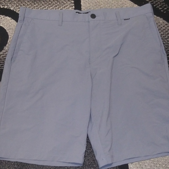hurley & nike Other - Hurley Nike Dri-Fit Casual Golf Shorts Mens Sz 36